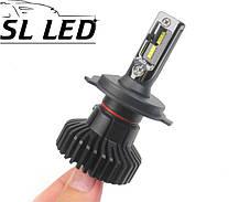 LED лампы в головной свет серии SX5 Цоколь H4, 25W, 3000 Люмен/Комплект, фото 3