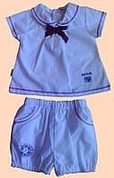 Комплект одежды для девочки : блуза и шортики
