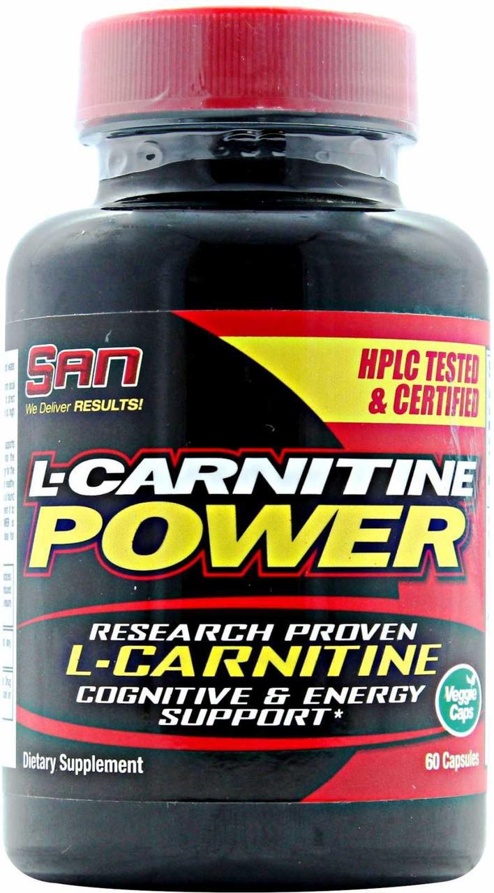 Жиросжигатель SAN L-Carnitine Power 60 caps