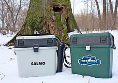 Ящики для зимней рыбалки, каны