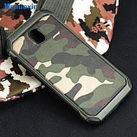 Чехол Military для Samsung J3 2017 / J330  бампер оригинальный Green