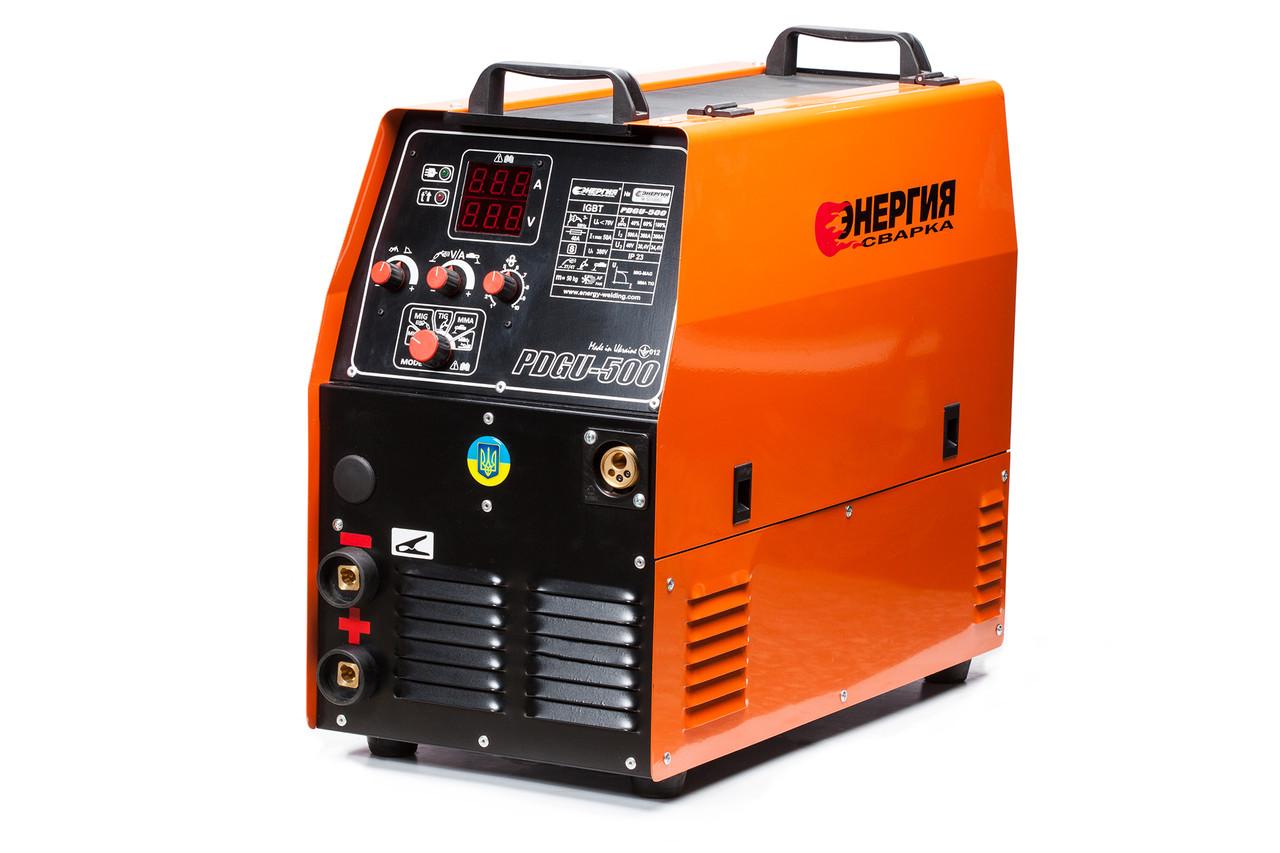 Сварочный инверторный полуавтомат Энергия ПДГУ-500