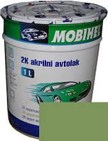 """Автокраска 325 Эмаль акриловая Helios Mobihel """"Светло-зеленая"""" 1л без отвердителя"""