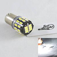 Светодиодная лампа в габарит SLP LED под цоколь T4W(BA9S)  30 светодиодов типа  3014 9-30 В. Белый