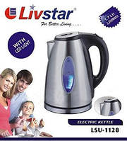 Электрочайник дисковый LIVSTAR 1.7 л