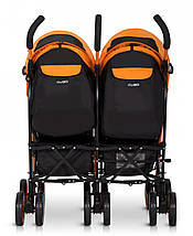 Коляска EasyGo Comfort Duo orange, фото 3