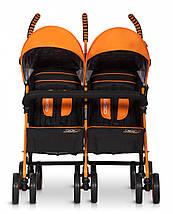 Коляска EasyGo Comfort Duo orange, фото 3
