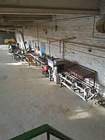 Линия для пиления тарной доски