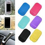 Антискользящий коврик в машину для телефона 14 х 8 см (nano pad) , фото 2