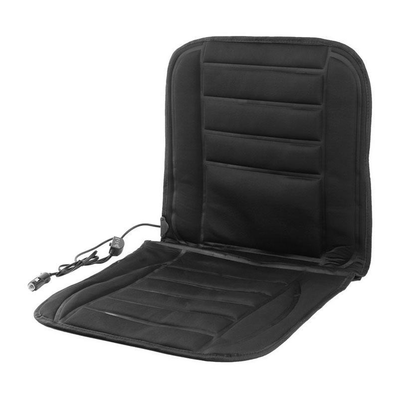 Накидка на сиденье с подогревом для автомобиля от прикуривателя