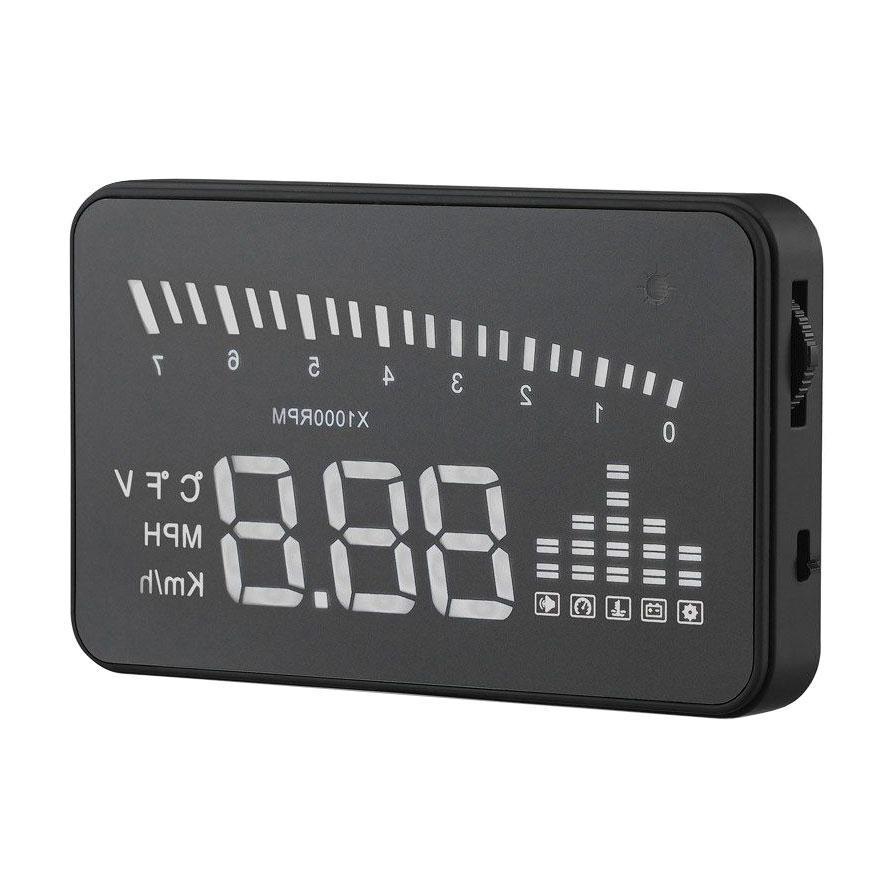 Автомобильный проектор скорости на лобовое стекло HUD X5