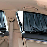 Автомобильные шторки на окна - занавески в машину от солнца, фото 4