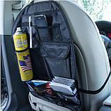 Органайзер на сиденье автомобиля для хранения вещей в салоне, фото 3