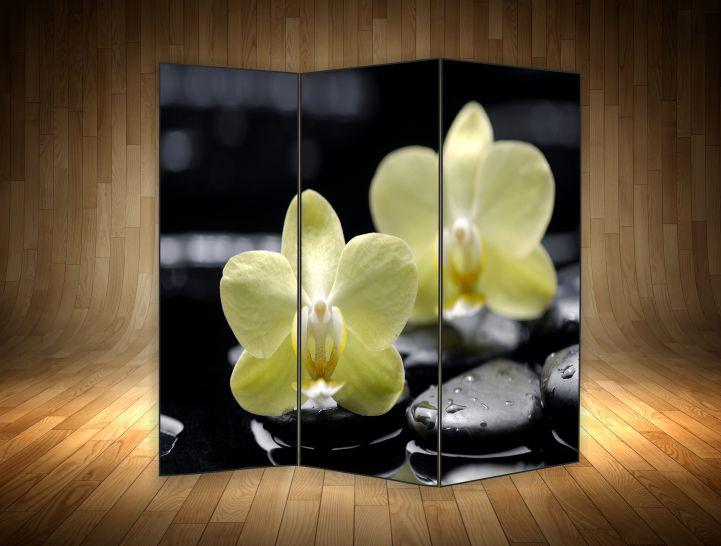 """Ширма декоративна"""" Квіти орхідеї"""""""