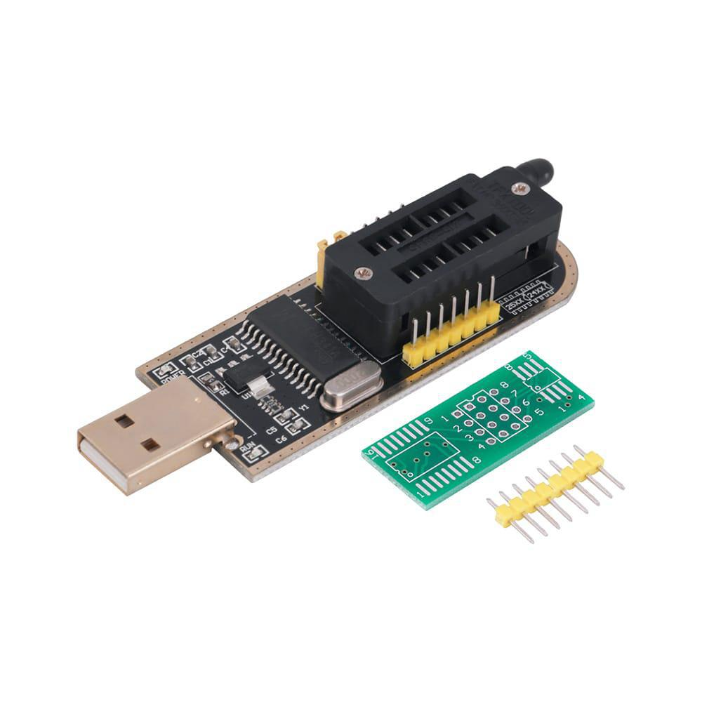 USB программатор CH341A для микросхем SPI flash, EEPROM