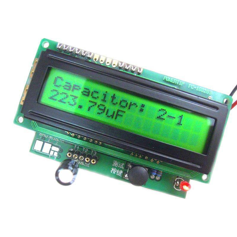 Прибор для проверки конденсаторов и полупроводников