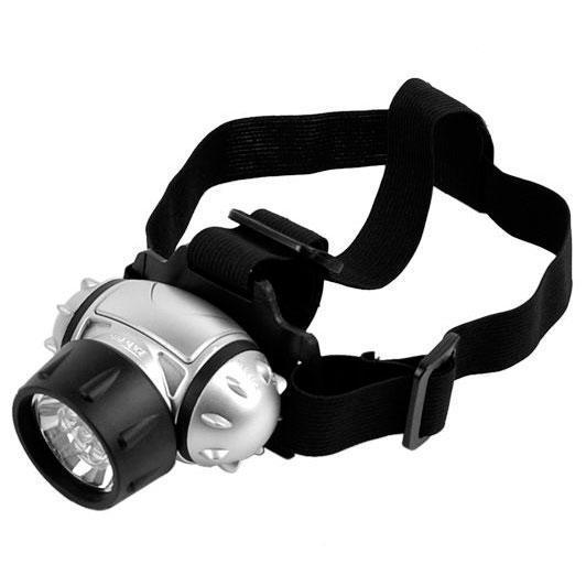 Налобный ультрафиолетовый фонарь для поиска янтаря на батарейках