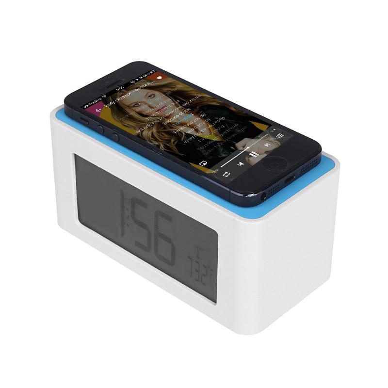 Беспроводной усилитель звука для андроид и iOS устройств с часами
