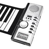 Складное гибкое пианино на батарейках , фото 2