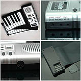 Складное гибкое пианино на батарейках , фото 3