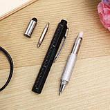 Ручка мультитул - многофункциональная шариковая ручка Avon 5 в 1 , фото 3