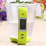 Электронный мерный стакан с весами для кухни (1000 г 600 мл) , фото 3