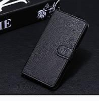 Чехол для Samsung Galaxy J2 2015 / J200 книжка кожа PU черный
