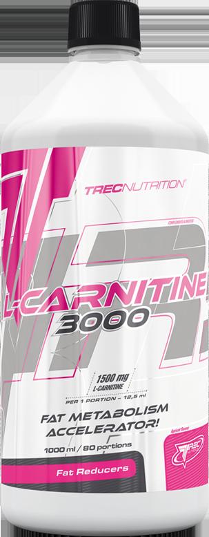Жиросжигатель TREC L-Carnitine 3000 1000 ml