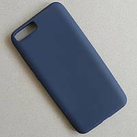 Матовый синий чехол для Xiaomi Mi6