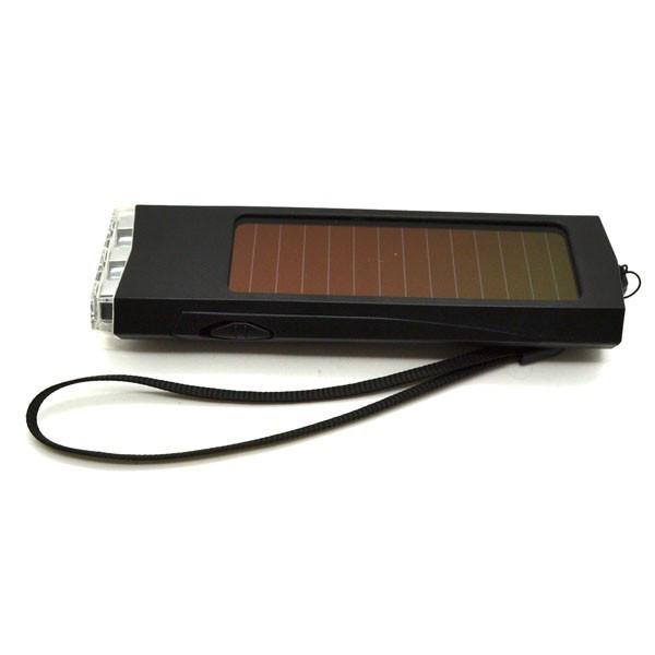 Фонарик на солнечных батареях (3 Led светодиода)