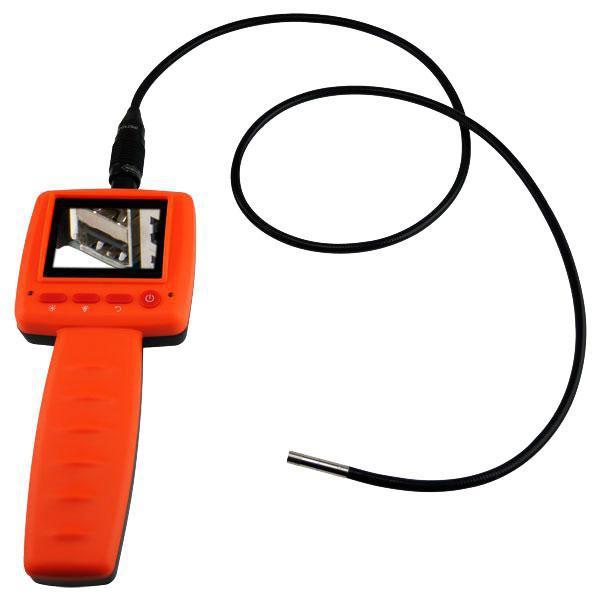 """Цифровой видеоэндоскоп (бороскоп) с дисплеем 2.4 """" на батарейках"""