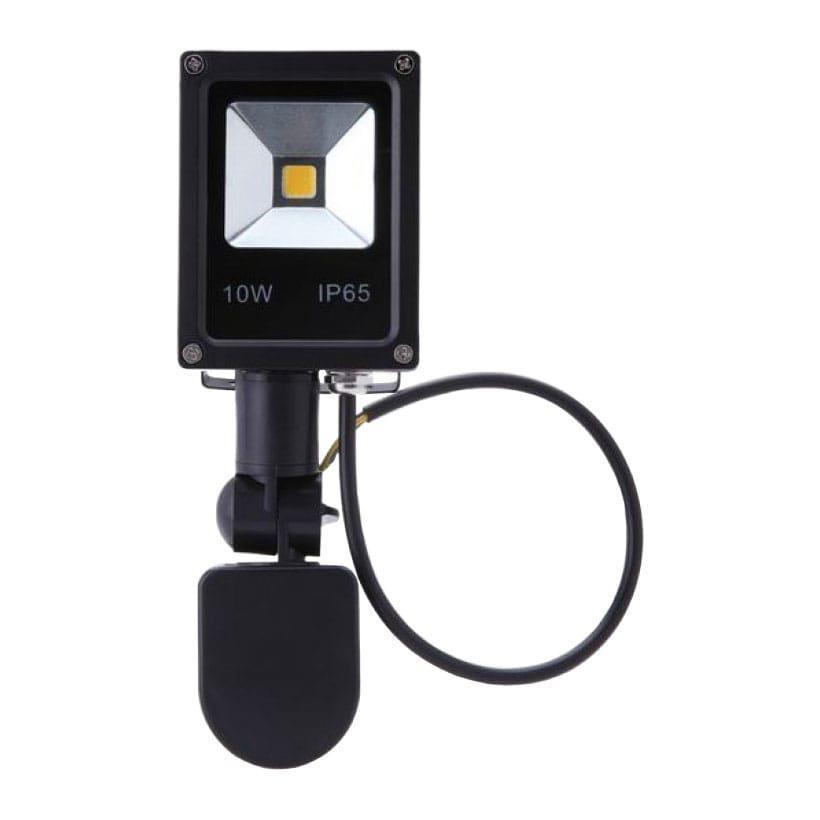Уличный прожектор светодиодный с датчиком движения 10W (800Lm)