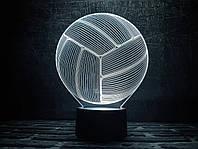 """3D ночник """"Волейбольный мяч"""" 3DTOYSLAMP, фото 1"""