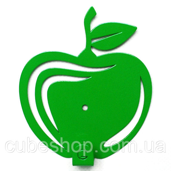 Настенный крючок для одежды Glozis Apple