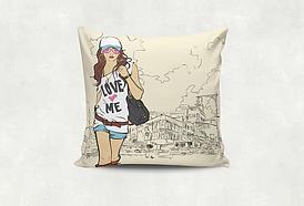 Подушка LOVE ME