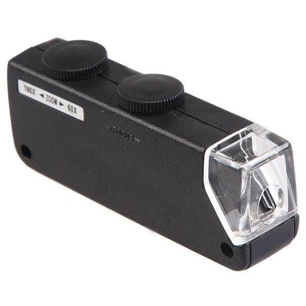 Портативный детский микроскоп - pocket microscope 60X-100X