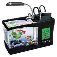 Настольный USB мини аквариум-органайзер