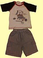 Комплект для мальчика: футболка и шортики