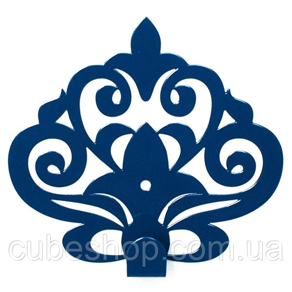 Настенный крючок для одежды Glozis Ajur Blue