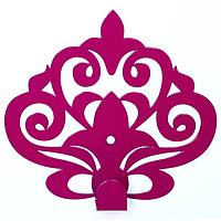 Настенный крючок для одежды Glozis Ajur Purple, фото 1