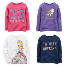 Кофты, регланы, свитера, флиски, рубашки для девочек