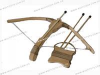 Арбалет деревянный арбалет 55см, буковый /25/(171907у)