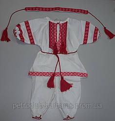Крестильный костюм Вышиванка для девочки (4 единицы)