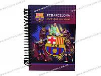 Блокнот карт. обложка, спир., 80л., А6 Barcelona /1/50/100/(BC14-222K)