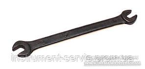 Ключ гаечный двусторонний 5,5 х 7 оксид (СССР)