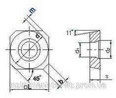 Твердосплавна Пластина SPCW-1204 P25