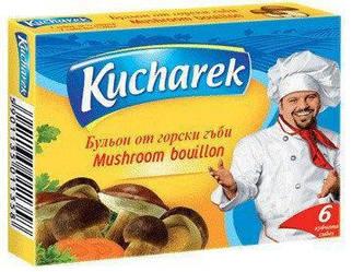 Kucharek кубики бульйонні грибні 60 гр.