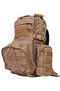 Штурмовий тактичний рюкзак Hofner - Stormtrooper (з відділенням під каску) Coyote