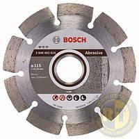 Алмазный отрезной круг для мягких и абразивных материалов 115 мм BOSCH 2608602615