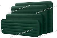 Кровать велюр 66950 (6шт) зелен.(встроен.механ.ножной насос),в кр. 76(66950)